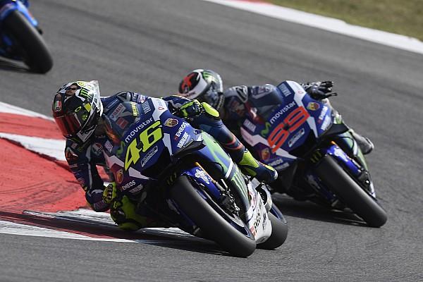 Rossi: Lorenzo'nun bana 'kirli sürüyor' demesine izin veremezdim