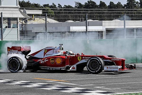 Vettel ve Ferrari Hockenheim'da taraftarlarla buluştu