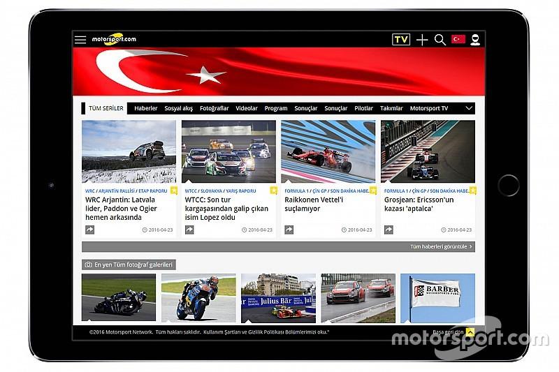 Motorsport.com Akuisisi Situs Balap TurkiyeF1.com