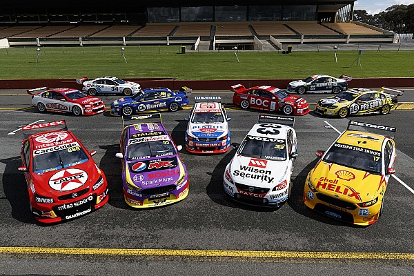 Die spektakulären Retrodesigns der australischen Supercars