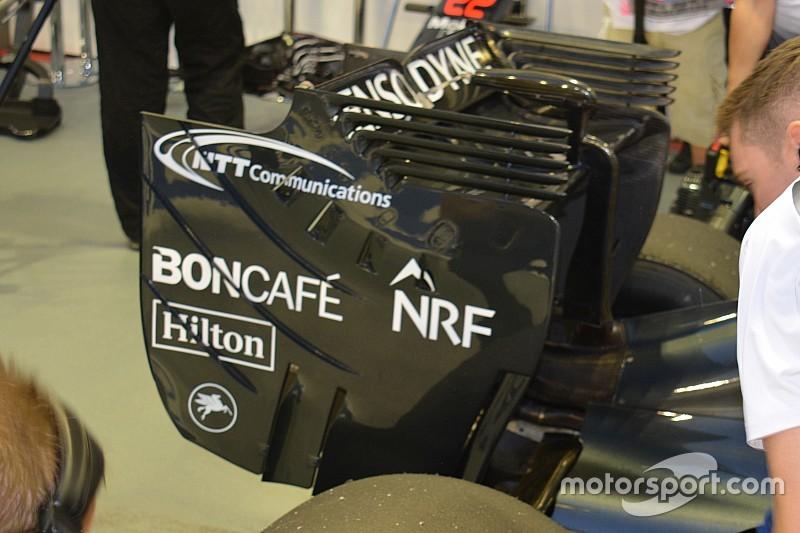 Tech update: McLaren MP4-31 achtervleugel