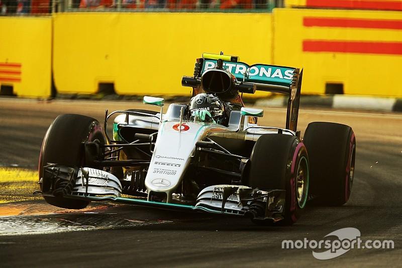 Rosberg sigue siendo cauto con el ritmo de Mercedes