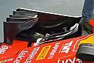 Técnica: dientes de sierra en el Ferrari en Singapur