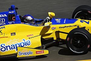 IndyCar Отчет о тренировке Андретти возглавил протокол финальной тренировки в Сономе