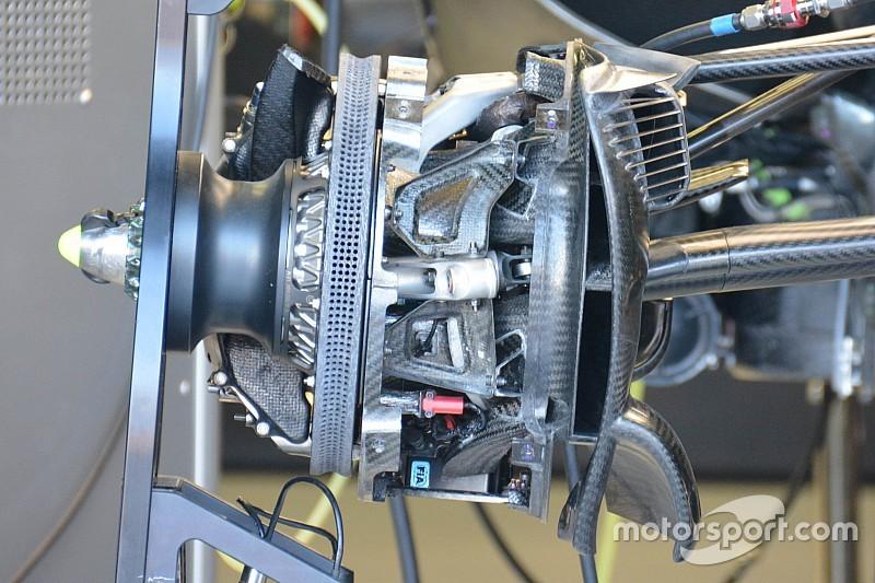 Mercedes: prese dei freni piccole per il raffreddamento dei dischi?
