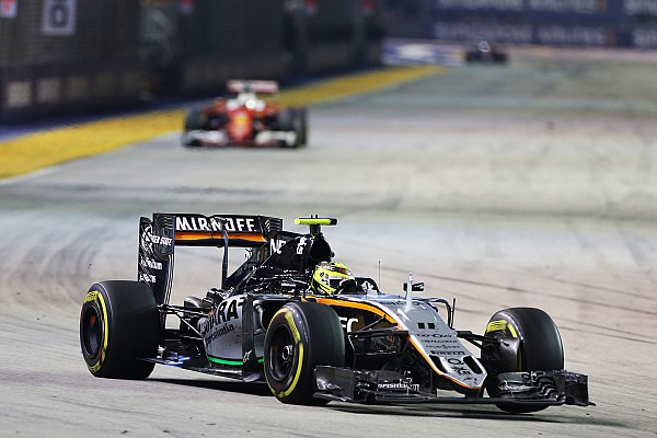 Perez: Cingapura foi uma das minhas melhores corridas na F1