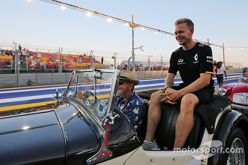 La broma de Magnussen con Alonso de protagonista