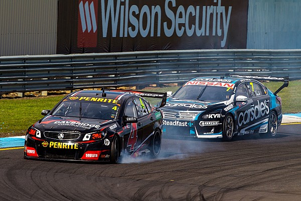 """Van der Drift over explosief Supercars-debuut: """"Een benauwd moment!"""""""