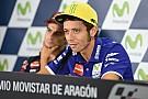 Rossi blij met eerste trainingsdag en gelooft het wel met de Lorenzo-vragen