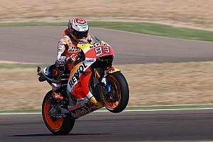 MotoGP Отчет о квалификации Маркес завоевал поул в Арагоне