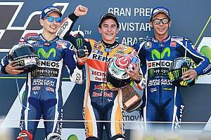 MotoGP Reporte de la carrera Incontestable triunfo de Márquez en Aragón