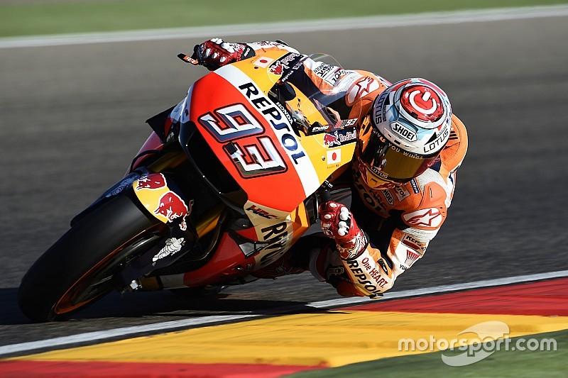 Motogp Aragon Marquez Berjaya Rossi Buat Kesalahan
