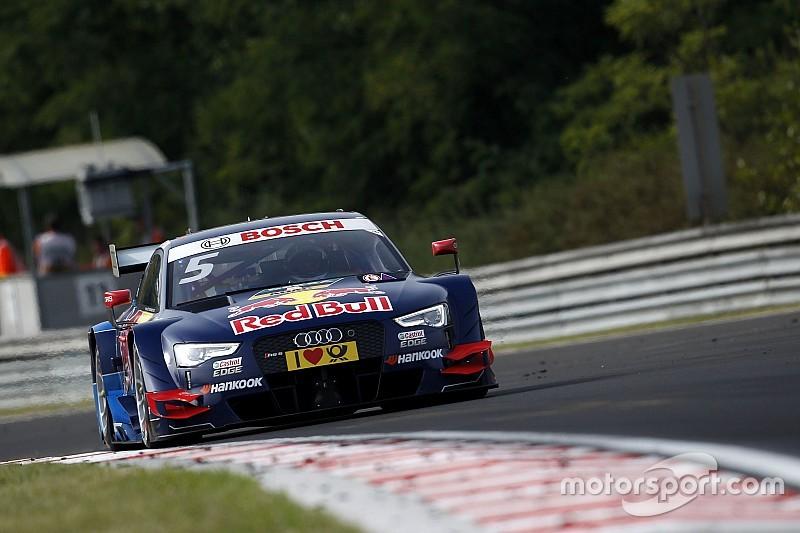 DTM Hungaroring: Ekström wint na drama bij Mortara