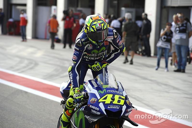 """Rossi: """"Es embarazoso pensar en correr pasados los 40"""""""
