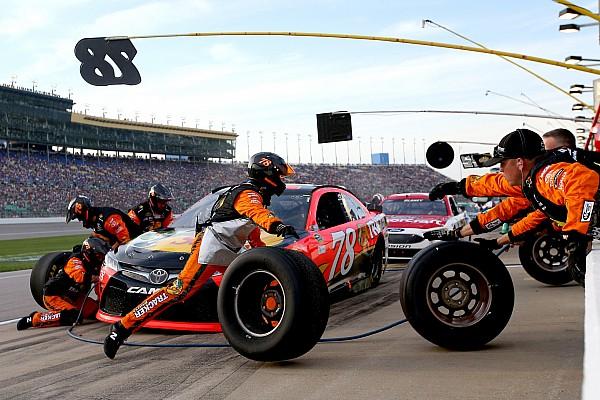 NASCAR Cup Actualités La NASCAR songe à réduire la taille des équipes dans les stands