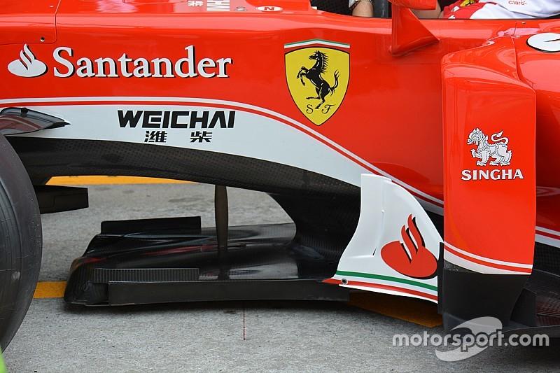 Технический брифинг: сплиттер Ferrari SF16-H