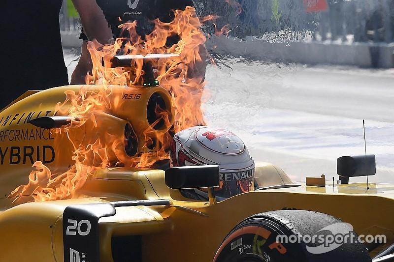 Renault: паливний клапан викликав пожежу у Магнуссена