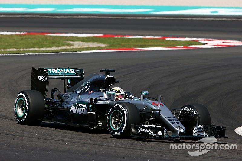 F1マレーシアGP:FP2 ハミルトンがトップタイム。メルセデスが1-2