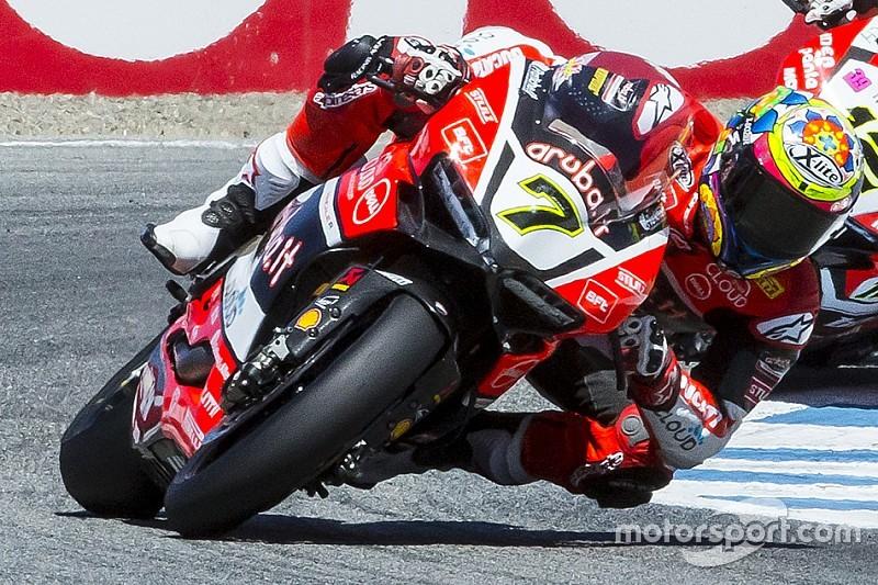 Magny-Cours, Libere 2: bis di Ducati e Davies. MV e Camier secondi