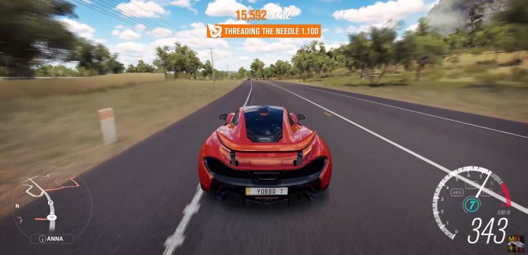 Ilyen a McLaren P1 4K és 60FPS mellett a Forza Horizon 3-ban