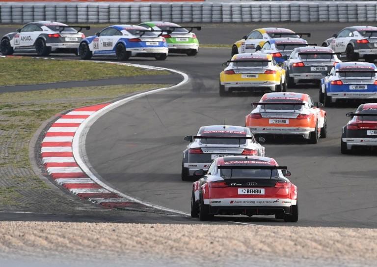 Az Audi Sport TT Cup is bajnokavatót tarthat a Hungaroringen