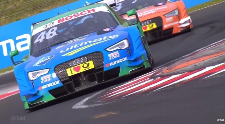 DTM: Totális Audi-győzelem a Hungaroringen