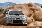 Toyota prueba el Yaris WRC en Cataluña
