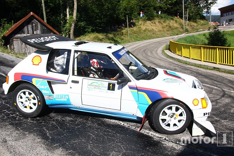 vid o s bastien loeb au volant de la peugeot 205 turbo 16. Black Bedroom Furniture Sets. Home Design Ideas