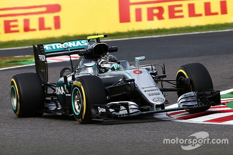 GP Jepang: Rosberg ungguli Hamilton dengan jarak 0,072 detik di FP2