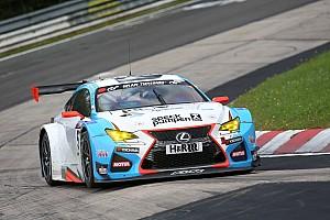 VLN Actualités La nouvelle Lexus RC F GT3 en piste ce week-end sur la Nordschleife