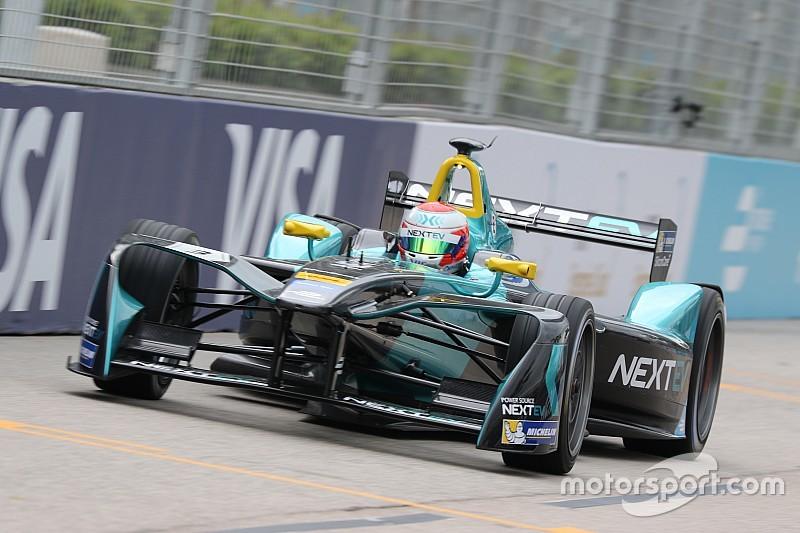 Formule E Hong Kong: Piquet Jr. op pole, flinke crashes voor Frijns en Di Grassi