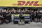 Mercedes se consagró campeón del mundo de constructores