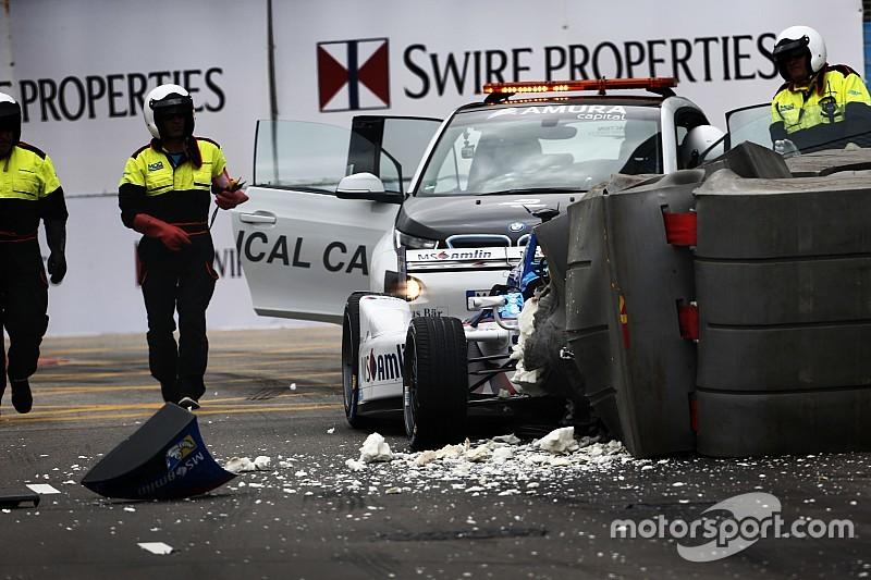 Auto Frijns was pas vier minuten voor gebruik raceklaar