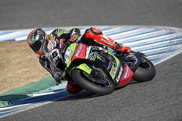 WSBK Jerez: Kawasaki start 1-2