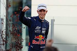 Formula 4 Actualités Deuxième titre en F4 pour Richard Verschoor, pilote Red Bull