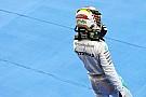 Hamilton se tomaría una derrota contra Rosberg