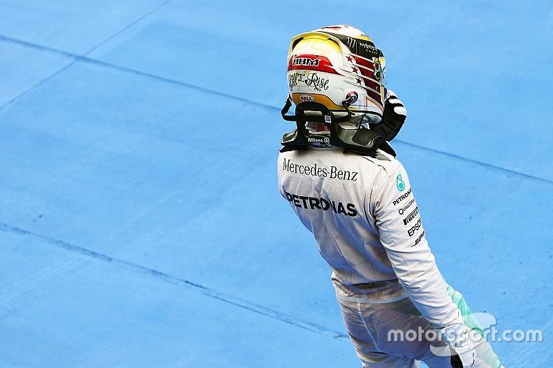 """Hamilton se tomaría una derrota contra Rosberg """"como un hombre"""""""