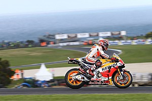MotoGP 予選レポート MotoGPオーストラリアGP予選:マルケスが圧倒的なPP。天候に翻弄され、ロッシまさかのQ1敗退