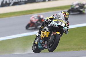 Moto2 Relato de classificação Luthi segue em alta e larga na frente na Austrália