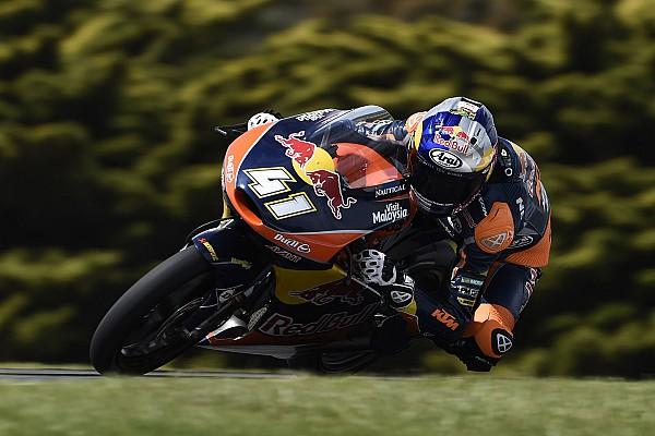 Moto3 Australia: Binder menangi balapan yang dipenuhi insiden kecelakaan