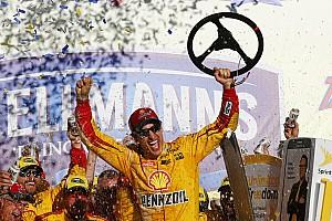 NASCAR Cup Noticias de última hora Logano triunfa en Talladega y cuatro pilotos son eliminados del Chase