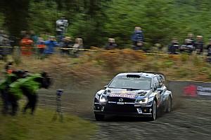 WRC Dagverslag WRC Wales: Ogier pakt voorsprong ondanks problemen Volkswagen