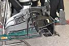 Технический брифинг: переднее крыло и тормозной воздухозаборник Mercedes