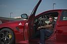 Quand Fisichella prend le volant de l'Alfa Romeo Giulia