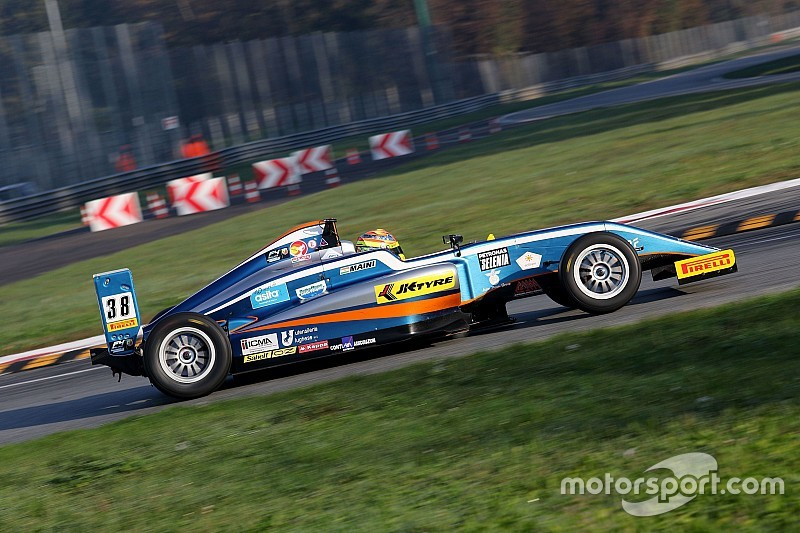 Monza F4: Maini claims top five finish in rookie standings