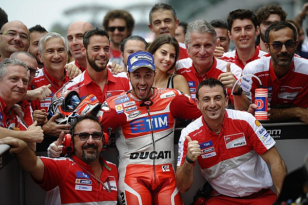 """MotoGP 多维齐奥索:""""花费太多时间""""拿下第二座冠军"""