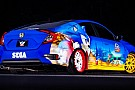 Photos - Une Honda Civic aux couleurs de Sonic !