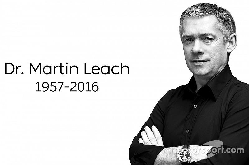 ネクストEV代表のマーティン・リーチ。闘病の末死去