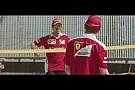 Vídeo: Vettel y Raikkonen se enfrentan en un partido de voley playa