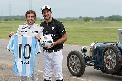 """Alonso: """"En Argentina hay mucho entusiasmo por la F1"""""""